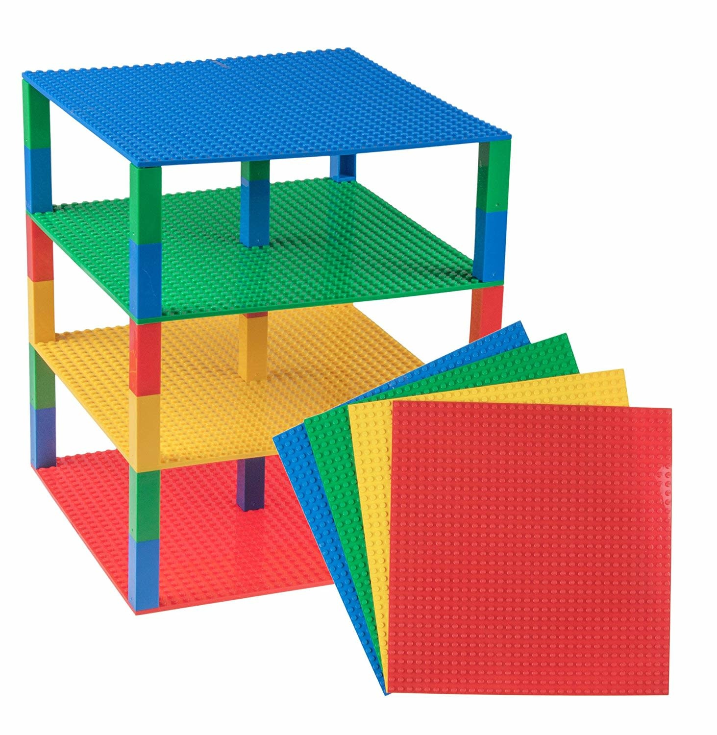 "Brik Tower  34-pc, 10"" Set by Strictly Briks"