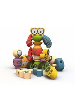 Tinker Totter Robots by BeginAgain