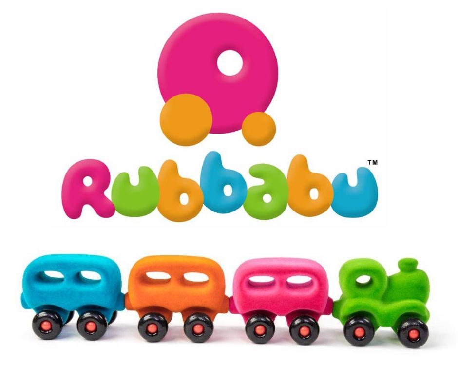 Magnetic Train by Rubbabu