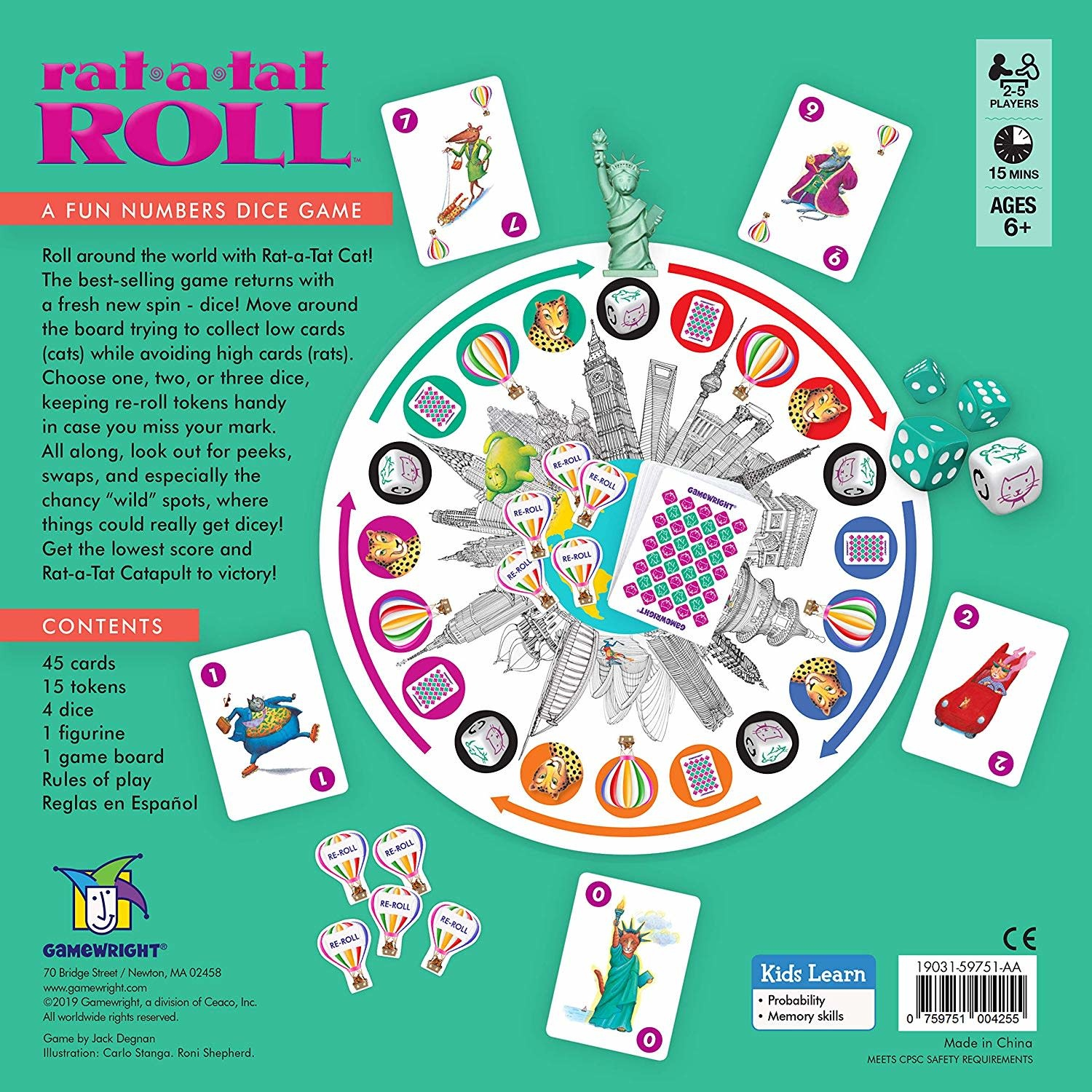 Rat-a-tat Roll by Gamewright