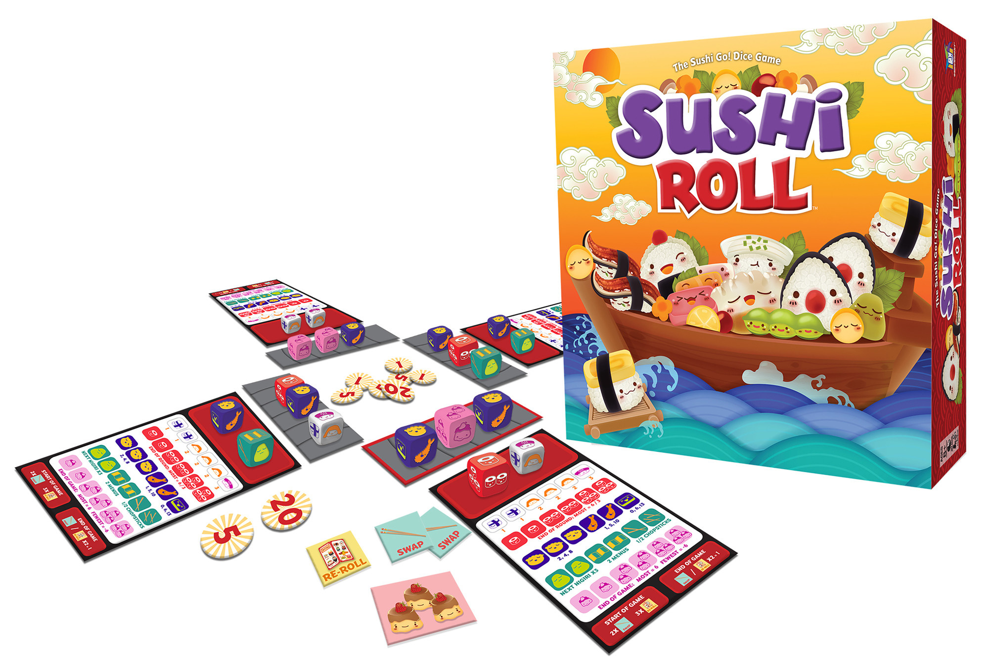 Sushi Roll by Gamewright