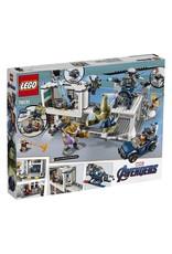 Avengers Compound Battle Set 76131