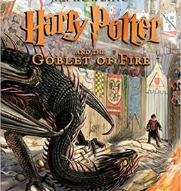 Harry Potter Goblet of Fire Illustrated Edition - Year 4