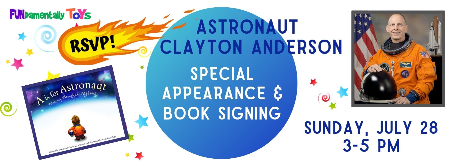 Clayton Anderson Special Appearance