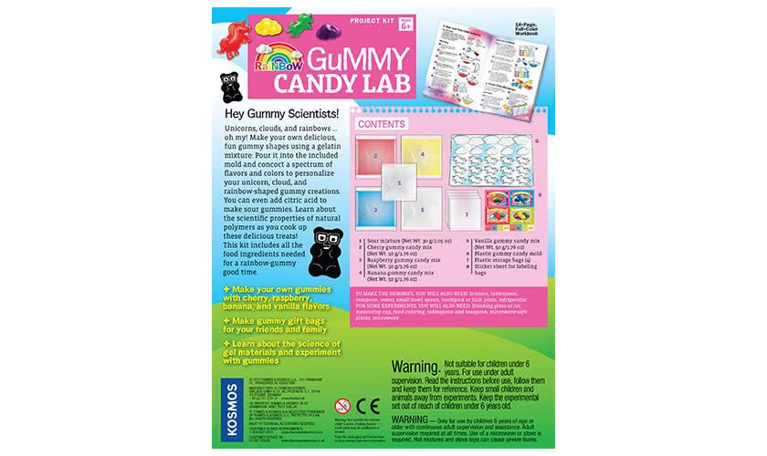 Rainbow Gummy Candy Lab by Thames & Kosmos