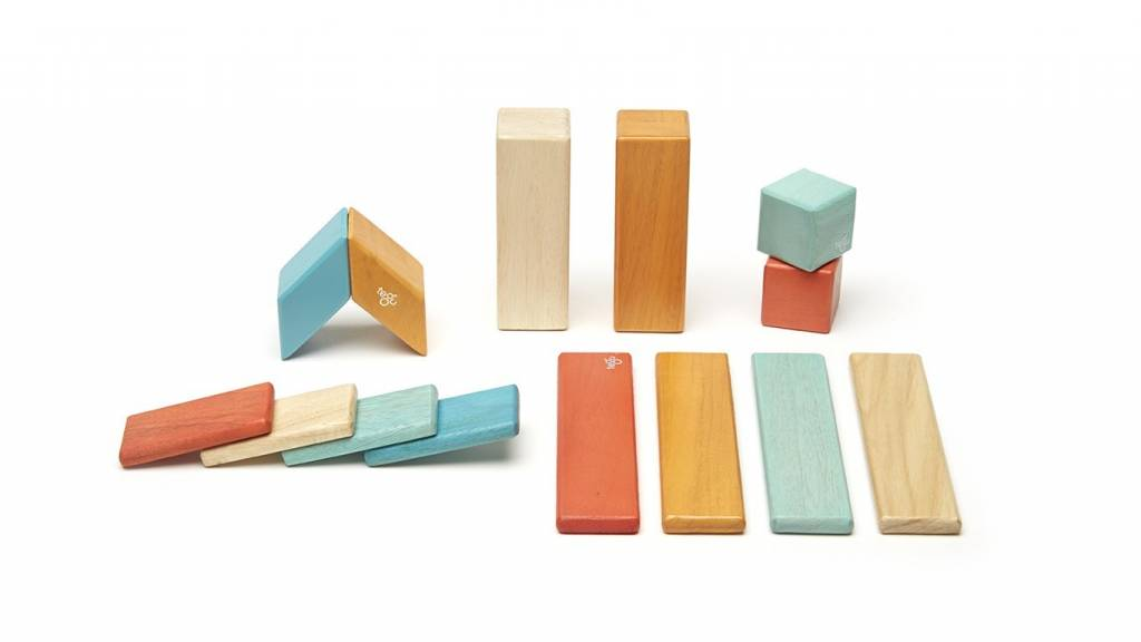 Tegu Magnetic Wooden Block Sets - Sunset