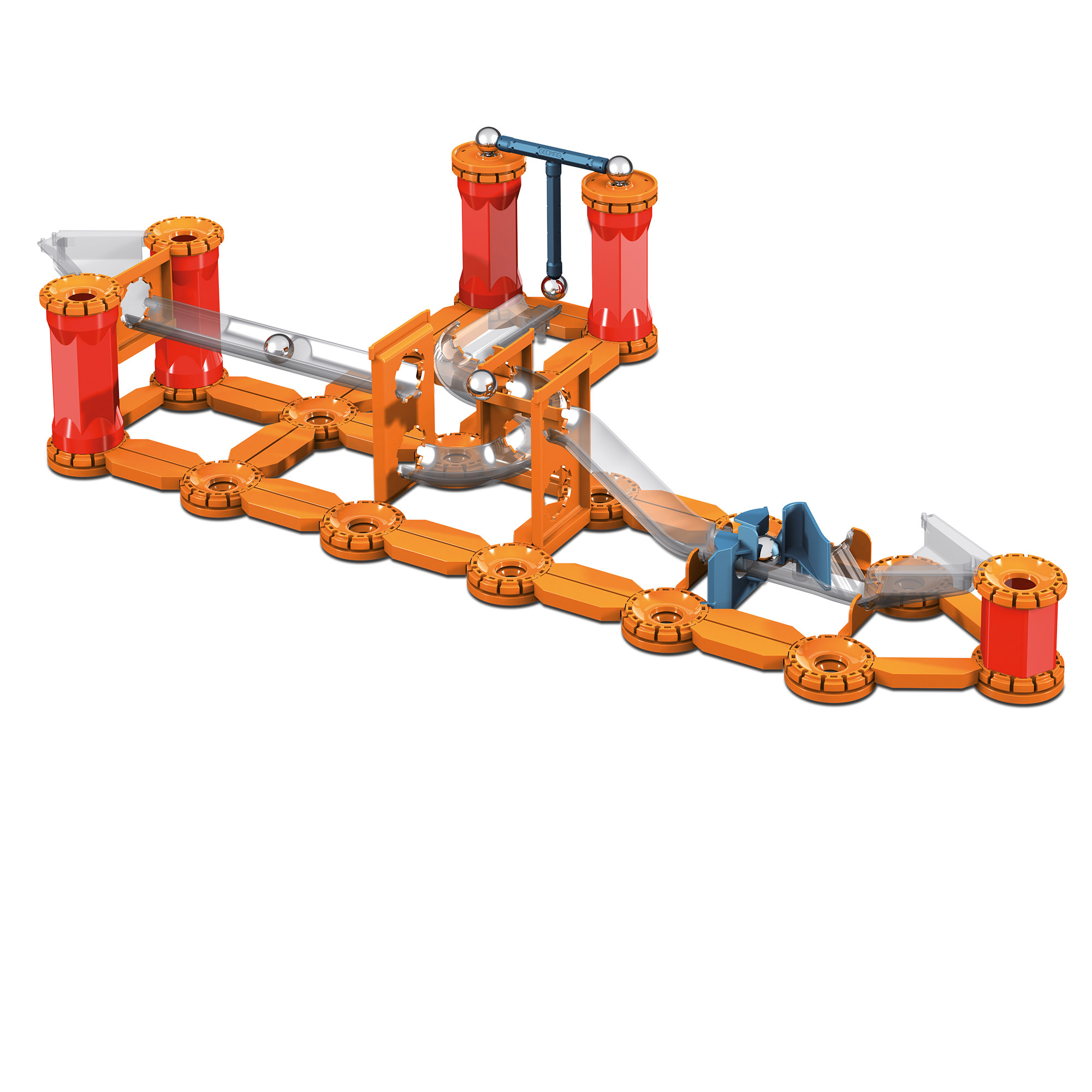 Mechanics Magnetic Track 115 pcs by Geomag