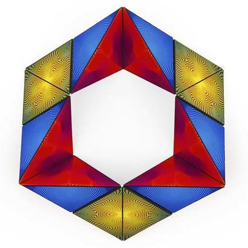Shashibo Optical Illusion Magnetic Puzzle Cube