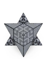 Shashibo - Blk/Wht Magnetic Puzzle Cube