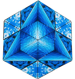 Shashibo Blue Planet Magnetic Puzzle Cube