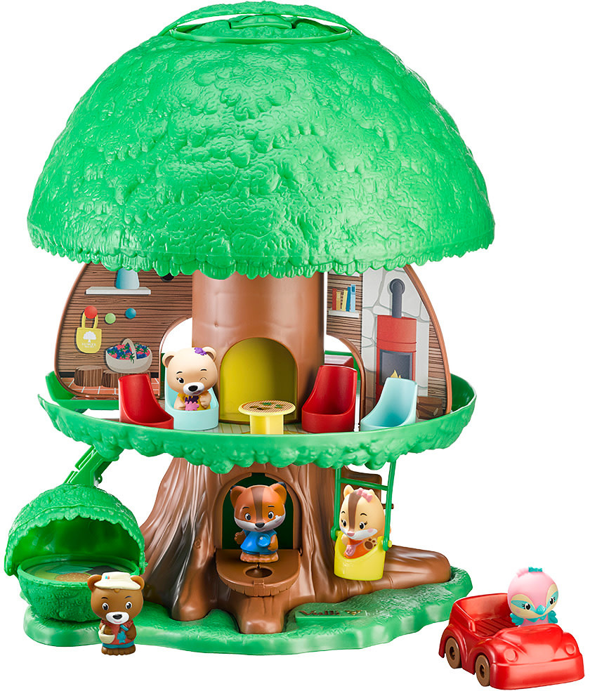 Timber Tots Timber Tots Tree House by Fat Brain Toys