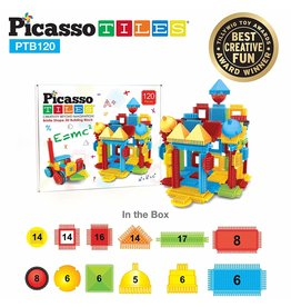 Picasso Tiles Bristle Set - 120-pc