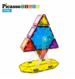 Picasso Tiles Ferris Wheel Set - 62 pcs