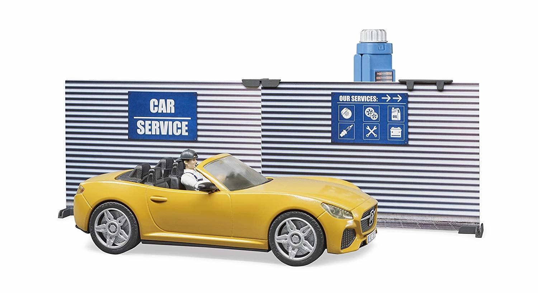 Bworld  Car Service Set by BRUDER