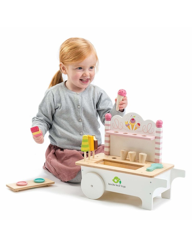 Ice Cream Cart by Tender Leaf Toys