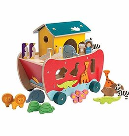 Noah's Ark Shape Sorter by Tender Leaf Toys
