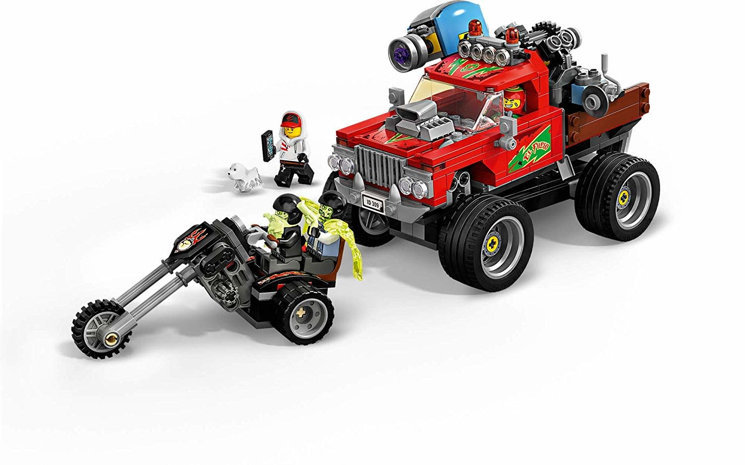 El Fuego's Stunt Truck 70421 by LEGO Hidden Side