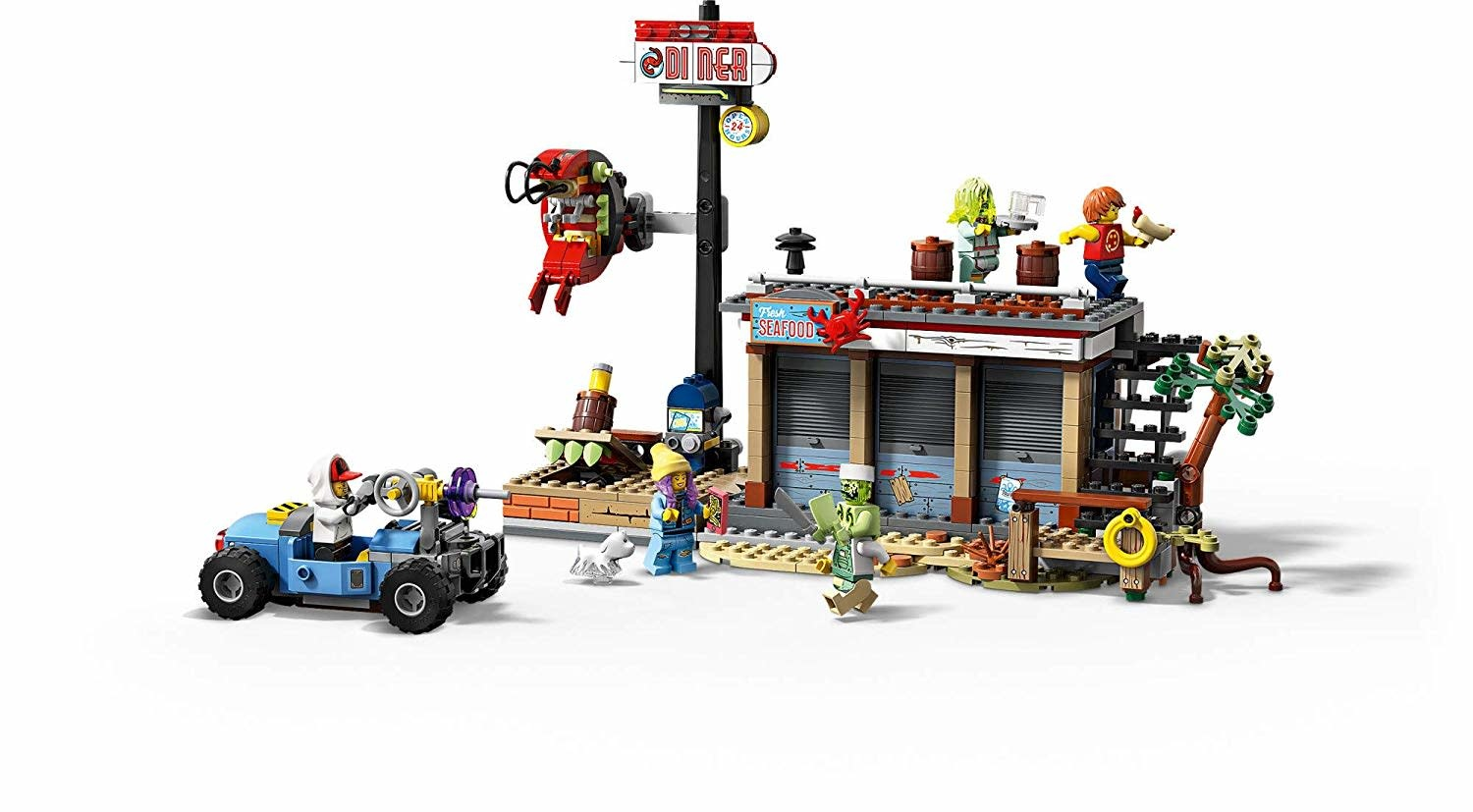 Shrimp Shack Attack  70422 by LEGO Hidden Side