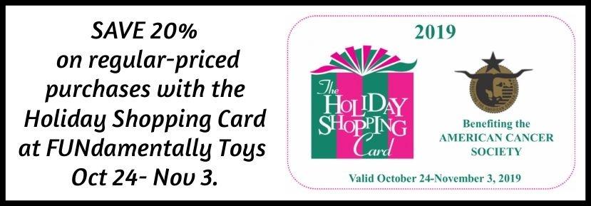 Holiday Shopping Card November 2019