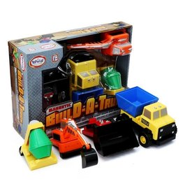 Magnetic Build-A-Truck Construction Set