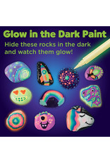 Glow in the Dark Rock Painting Kit by Faber Castell