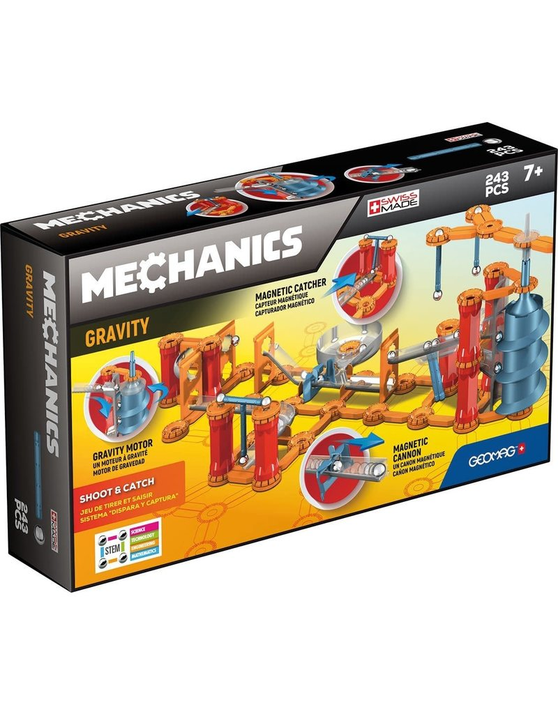 Mechanics Shoot & Catch 243 pcs by Geomag