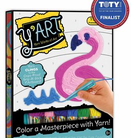 Y'Art Flamingo Craft Kit by Kahootz