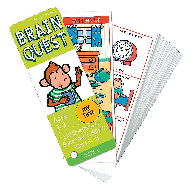Brain Quest Decks - My First (Ages 2-3)