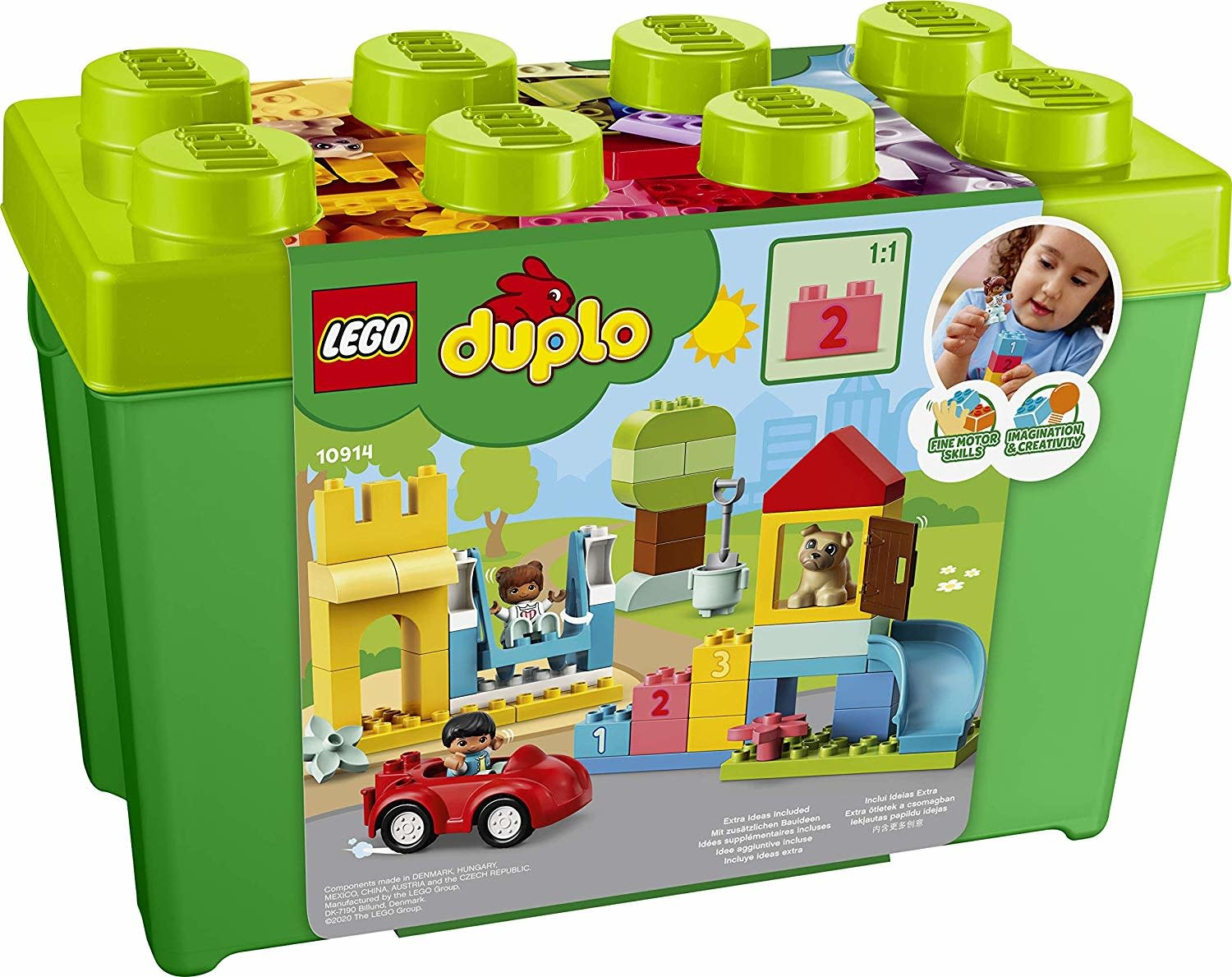 10914 Deluxe Brick Box by LEGO/duplo