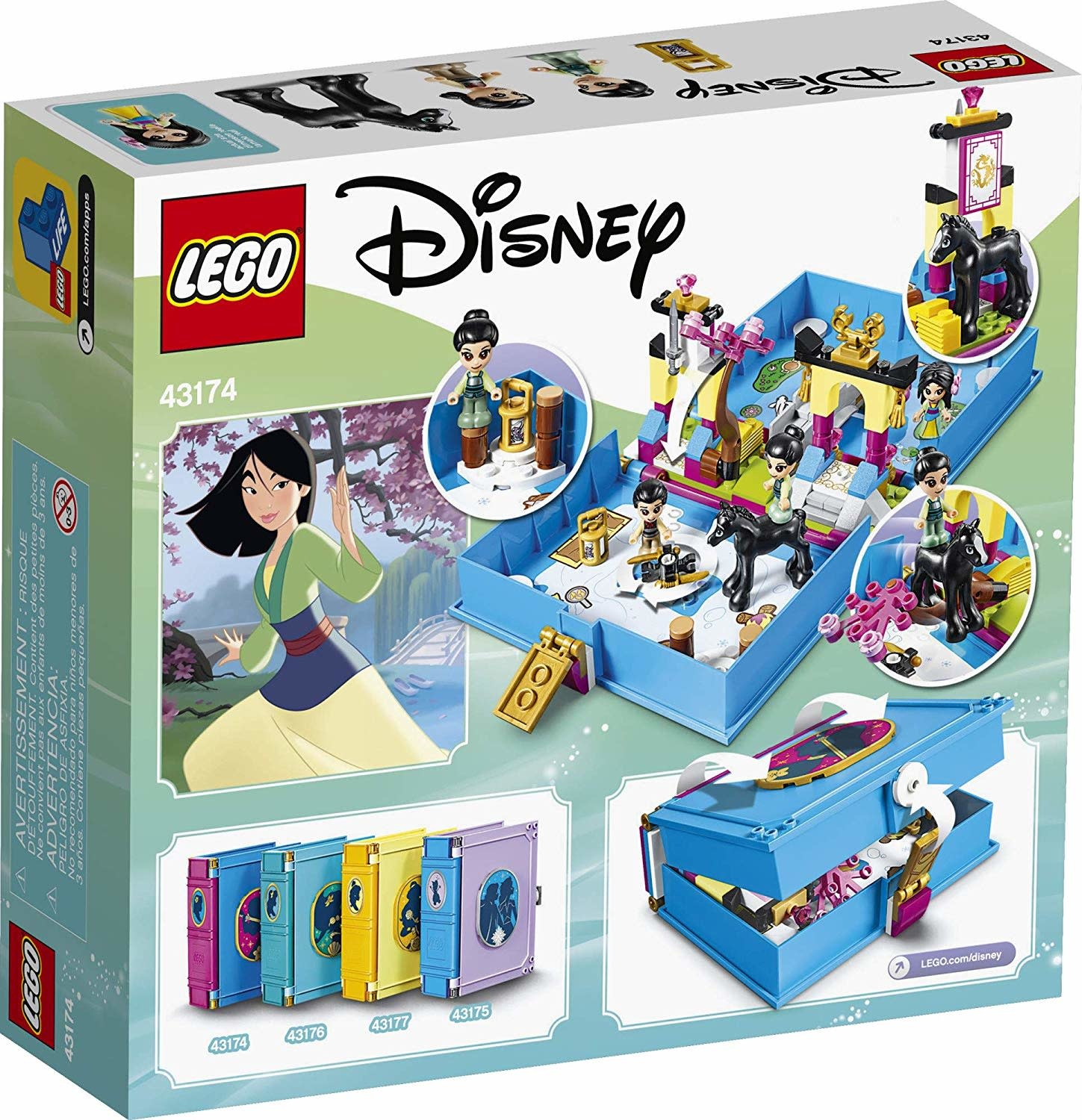 43174 Mulan's Storybook Adventures by LEGO Disney