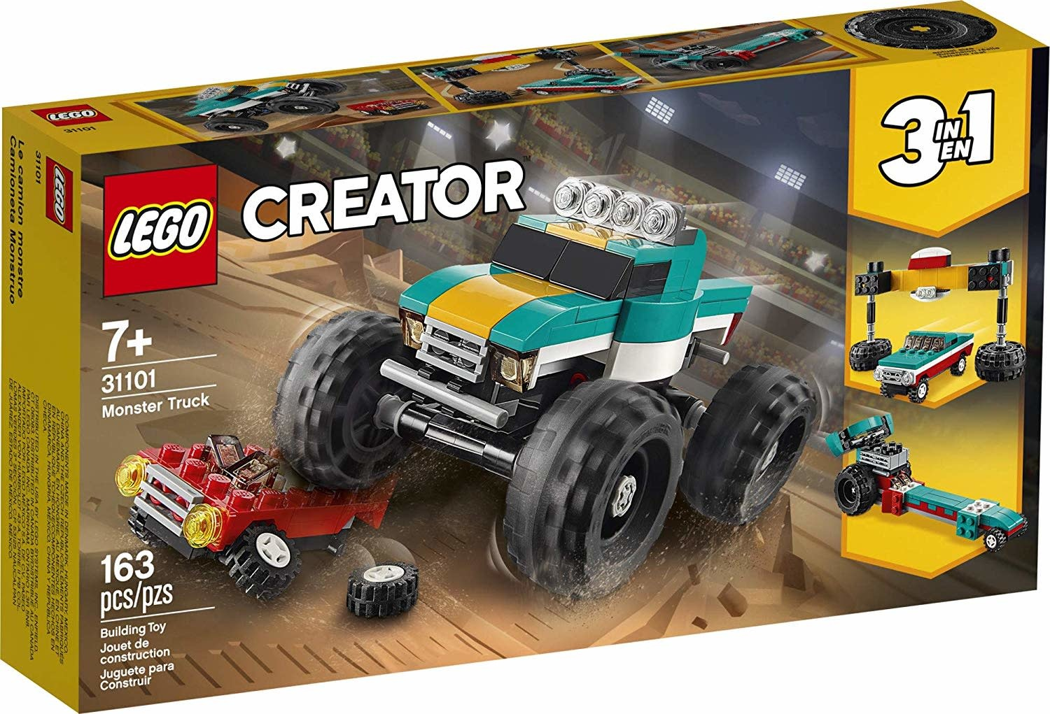 31101 Monster Truck Set by LEGO Creator