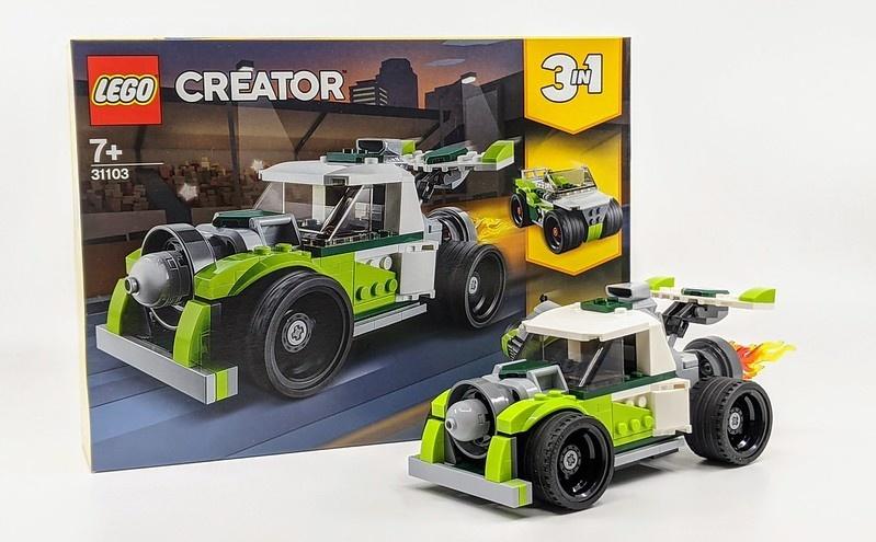 31103 Rocket Truck by LEGO Creator