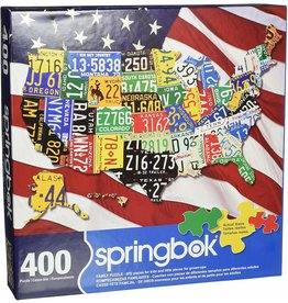 State Plates 400-pc Puzzle by Springbok