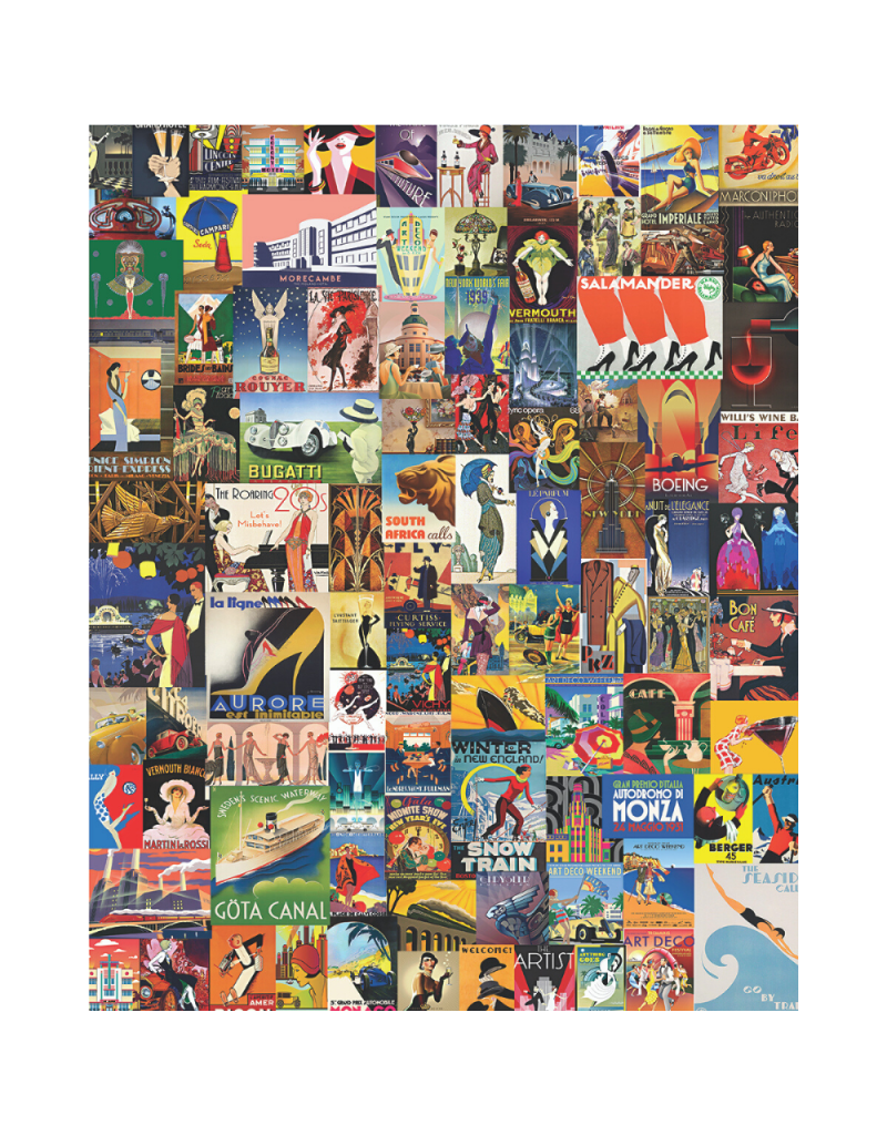 Delightful Deco 1000-pc Puzzle by Springbok