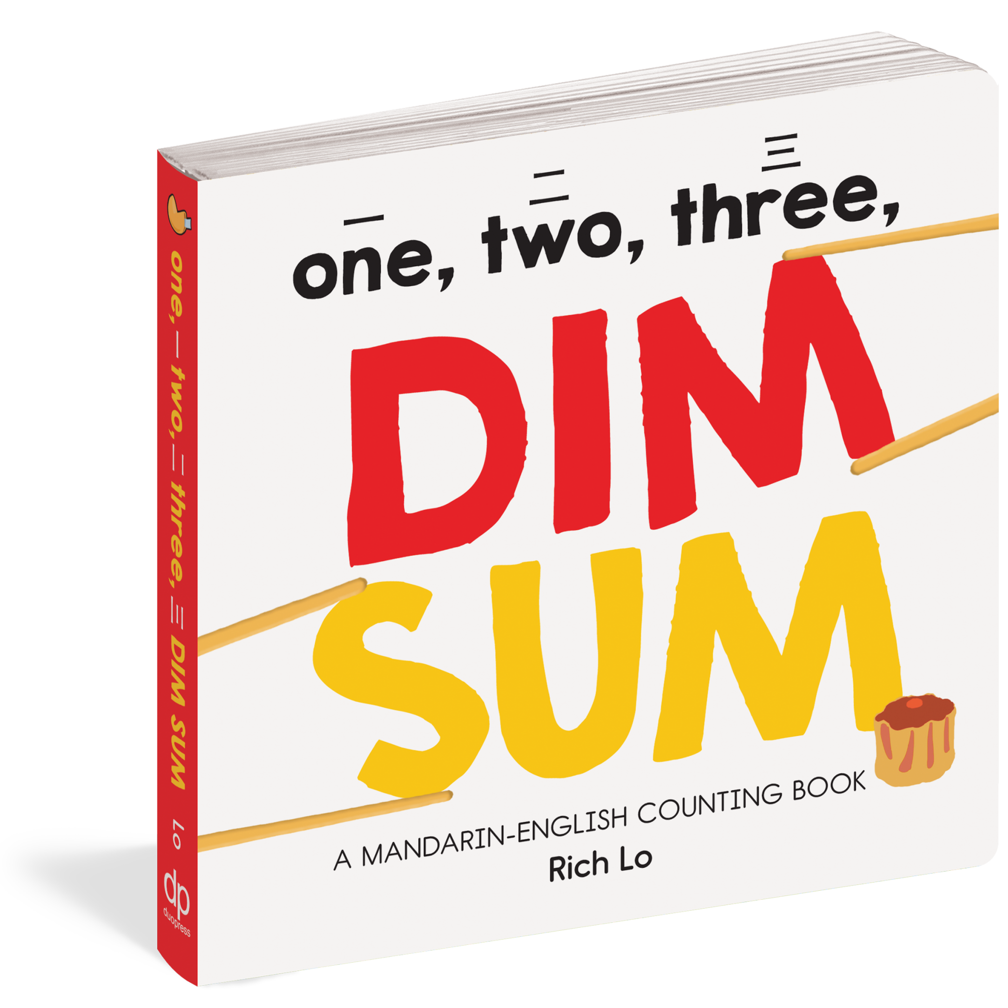 One, Two, Three Dim Sum Mandarin-English Counting Book