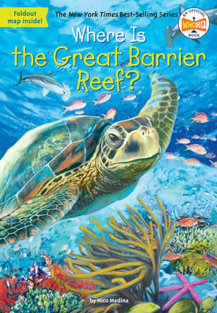 Where Is the Great Barrier Reef? Paperback Book