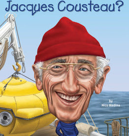 Who What Where Who Was Jacques Cousteau? Paperback Book