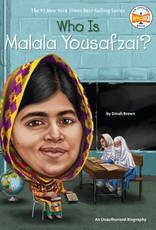 Who What Where Who Is Malala Yousafzai? Paperback Book
