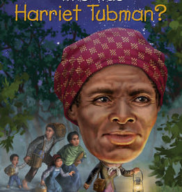 Who Was Harriet Tubman? Paperback Book