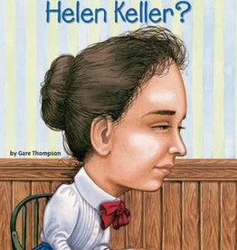 Who Was Helen Keller? Paperback Book