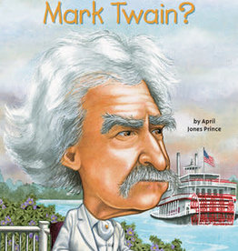 Who Was Mark Twain? Paperback Book