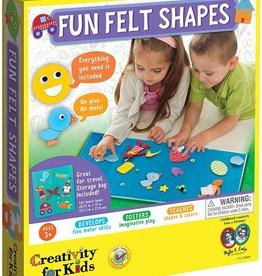 Fun Felt Shapes by Creativity for Kids