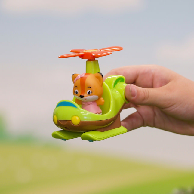 Timber Tots Helicopter by Fat Brain Toys