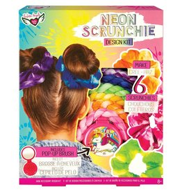 Fashion Angels Neon Scrunchie Design Kit by Fashion Angels