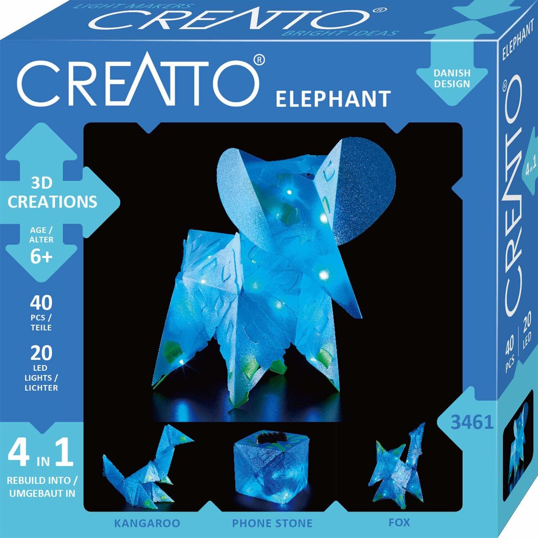 Creatto: Moonlight Elephant Safari Kit by Thames & Kosmos