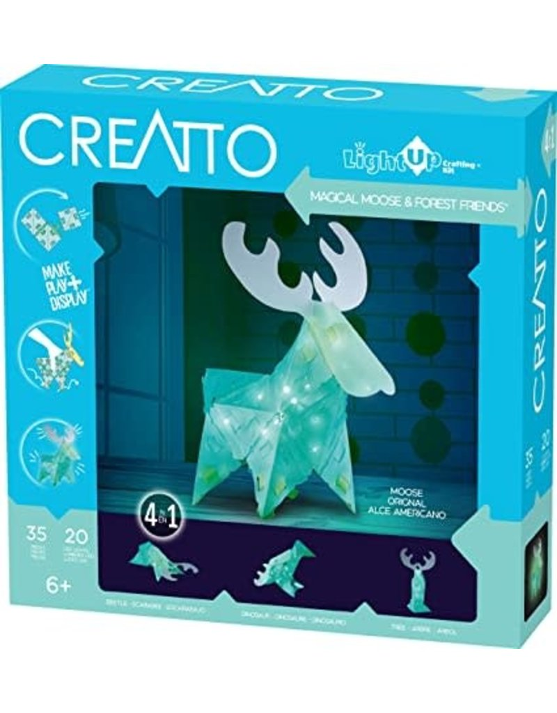 CREATTO Magical Moose & Forest Friends Kit by Thames & Kosmos