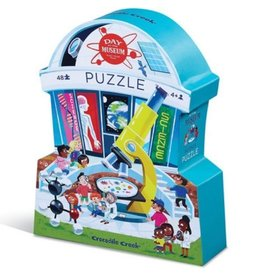 Day at the Science Museum 48-pc Puzzle by Crocodile Creek