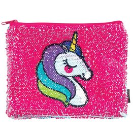 Fashion Angels Unicorn & Rainbow Magic Sequin Pouch by Fashion Angels