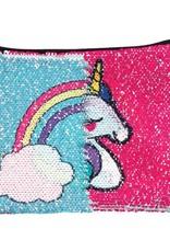 Fashion Angels Unicorn & Rainbow Magic Sequin Pouch by Fashion Angels
