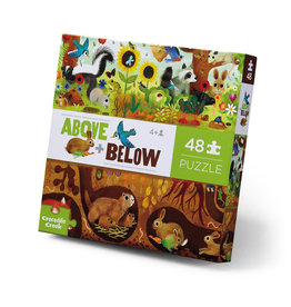 Above & Below Backyard Discovery 48-pc Puzzle by Crocodile Creek